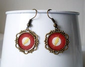 The Flash Dangle Earrings Antique Gold