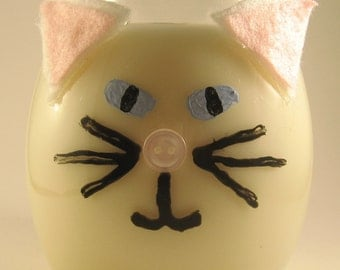 Custom Cat and Kitten Candles