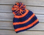 Fan-tastic beanie - baby beanie with pompom - team colors