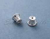 Sterling Silver Ear Stoppers Ear Nuts 925 model ES16