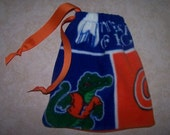 Gymnastic Grip Bag - Florida Gator theme Handsewn/Gift (Available in other college or NFL  teams)