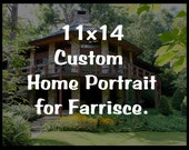 Custom House Portrait for Farrisce
