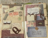 Travelers Journal  Altered Book
