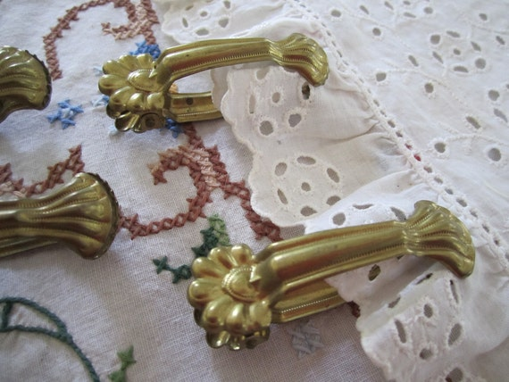 Vintage French Curtain Clips