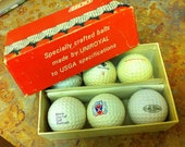Golf Balls Vintage Railroad  Collectibles FREE SHIPPING