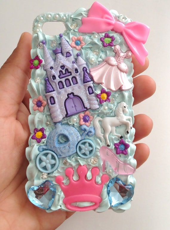 Princess Cinderella iPhone 4 & 4S case (back cover) - Ready To Ship