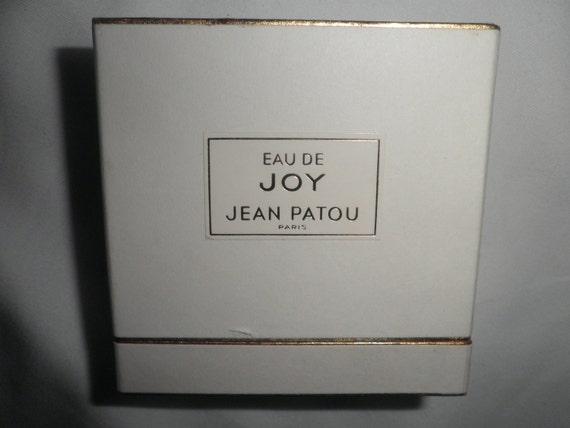 Reserved for Patricia....Vintage Jean Patou Joy Perfume