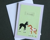 5 Horse Cards