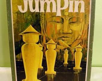 Vintage Board Game Jumpin