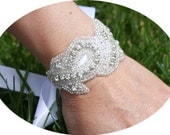 GRACE - Luxe Couture Crystals Rhinestones Bridal Bracelet