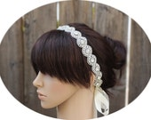 GIGI - Beautiful Lux Bridal Couture Crystal Rhinestone Headband