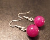 Plum Earrings. Free shipping if buying with another items.
