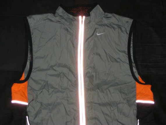 Vintage 1990s Nike Reflective Vest