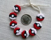 Polymer Clay Pokebeads