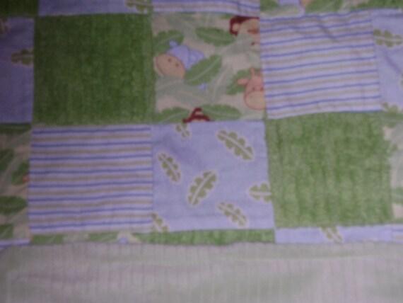 Jungle Babies Blanket