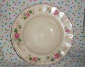 Vintage Creampetal Grindley England soup bowl