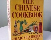 Craig Claiborne & Virginia Lee, The Chinese Cookbook, Soft Cover, Vintage Cookbook, 1972, BnN 1983