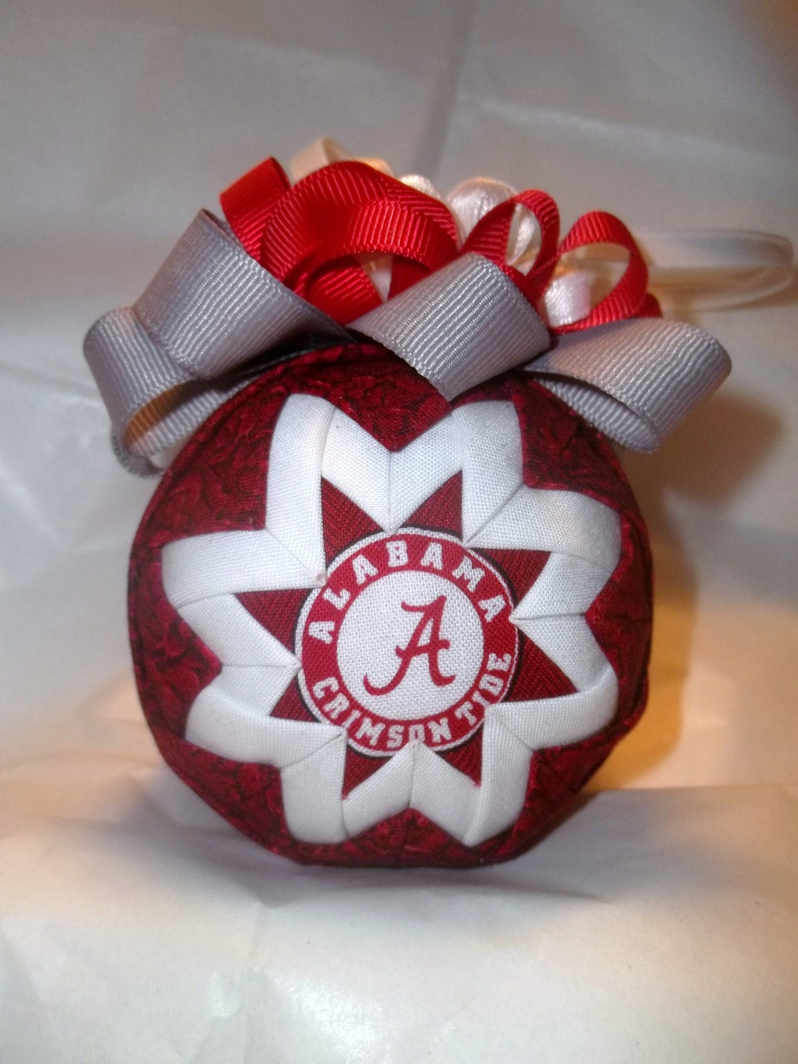 how to make handmade quilted ornaments handmade quilted ornaments alabama roll tide and 2190