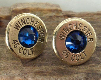 Bullet  Earrings - Ultra Thin - Colt 45 - Big Sky