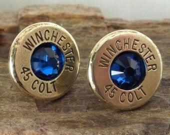 Bullet  Earrings - Ultra Thin - Colt 45 - Big Sky