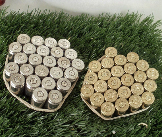50 Bullet Casings - Steampunk  Art Supplies