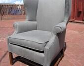 Accent Chair - Grey Linen
