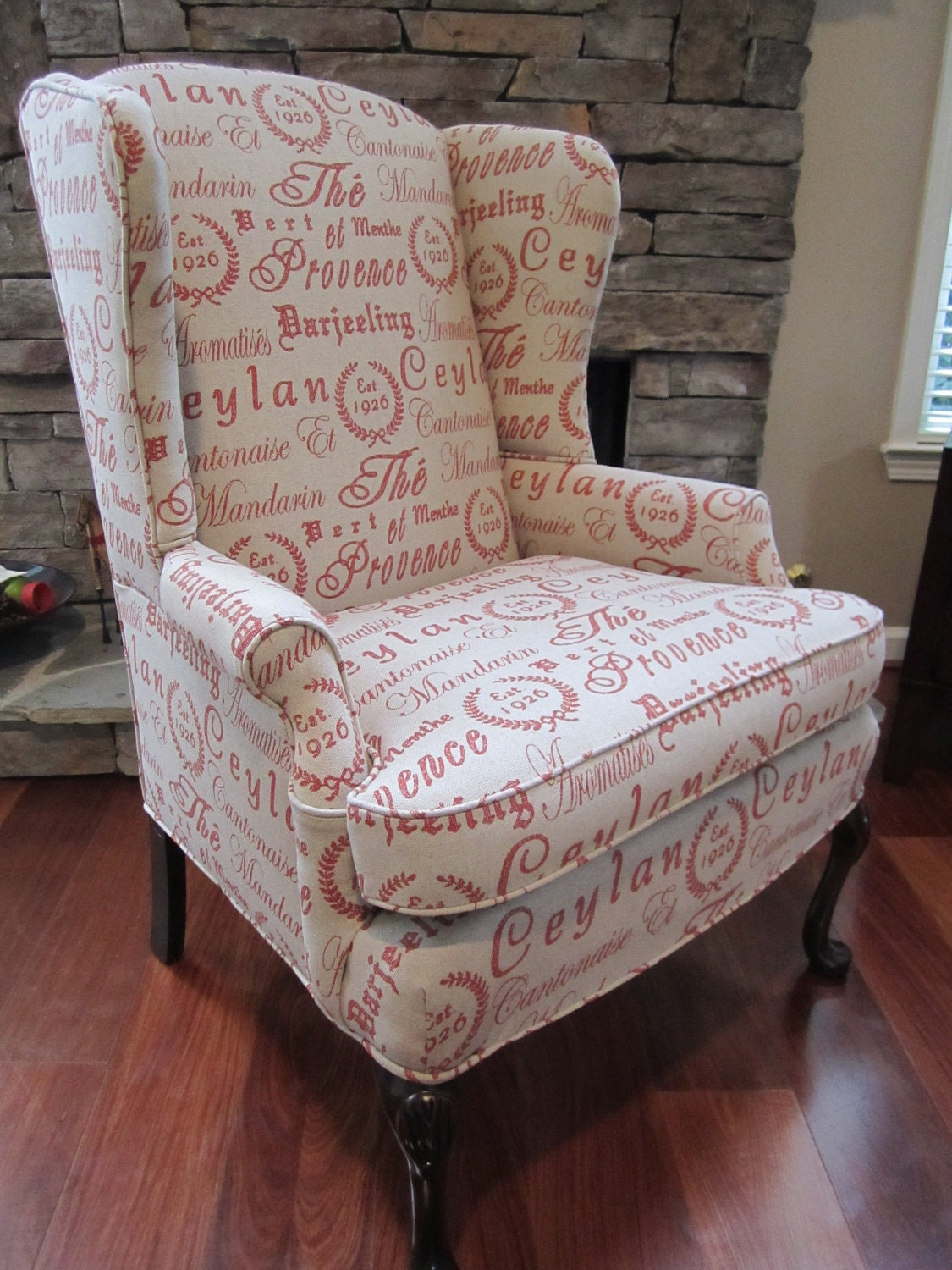 Items similar to Accent Chair Script on Etsy
