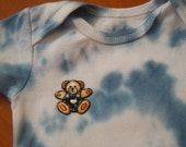 Adorable Little Love Bear tie dyed onesie size 3-6 months