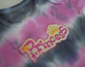 Glowing little Princess tie dyed onesie size 3-6 months