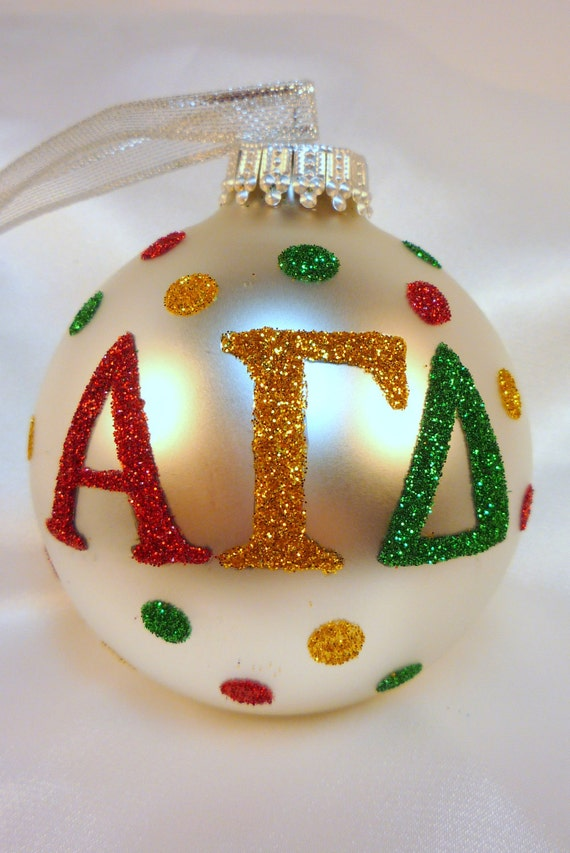 Custom Glass Christmas Ornaments