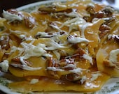 Classic Creamy Pecan Brittle with White Chocolate Drizzle 1/2 Pound