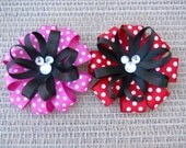 Mickey and Minnie Mouse Inspired Loopy Bows
