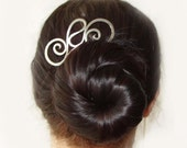 metal barrette hairfork Norsi 41