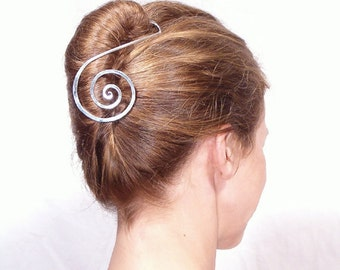 metal hair barrette hairstick