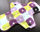 Zorb Minky Topped 8.5 inch Mama Cloth Pad - Choose light or medium flow - made to order