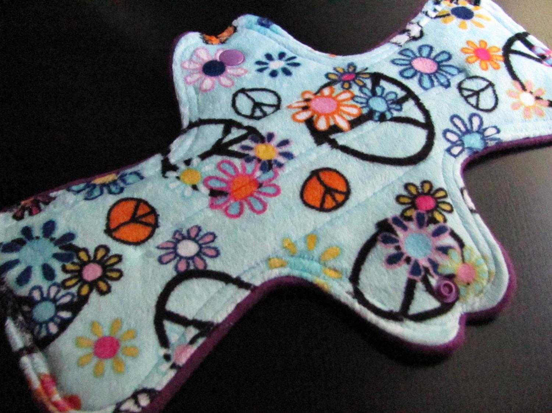 Zorb Minky Topped 11.5 inch Mama Cloth Pad
