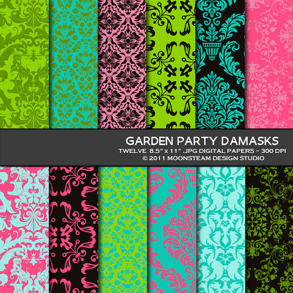 Garden Party Invitation Templates