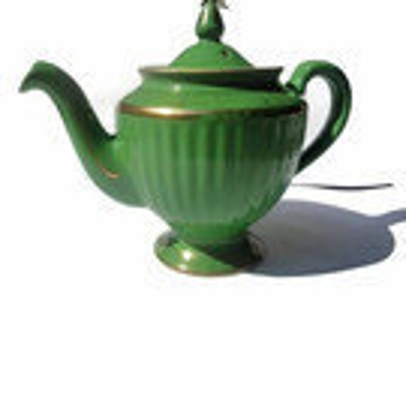 Hall Emeral Green Teapot - Los Angeles