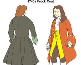 1740s Frock Coat Pattern