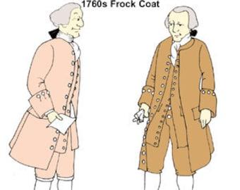 1760s Frock Coat Pattern
