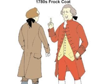 1780s Frock Coat Pattern