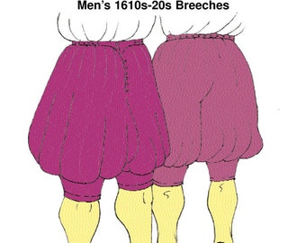 RH109 - 1620s Breeches Pattern