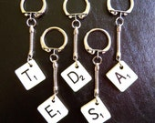 Scrabble Keyrings