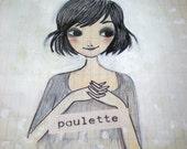 Paulette. Original drawing //
