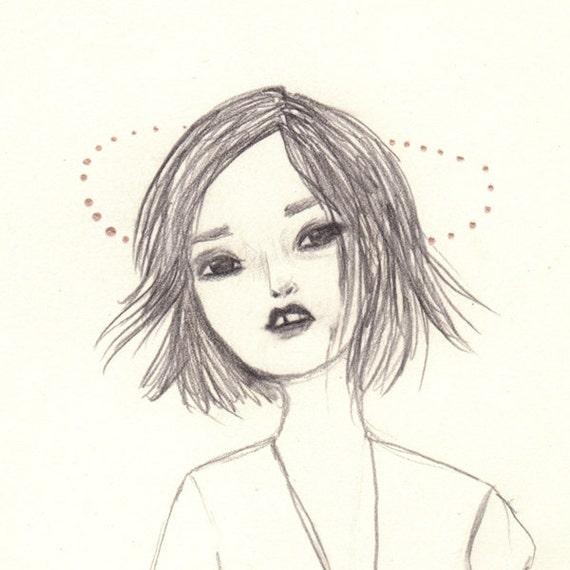 Illustration print // Vison // A5 /// 6x8