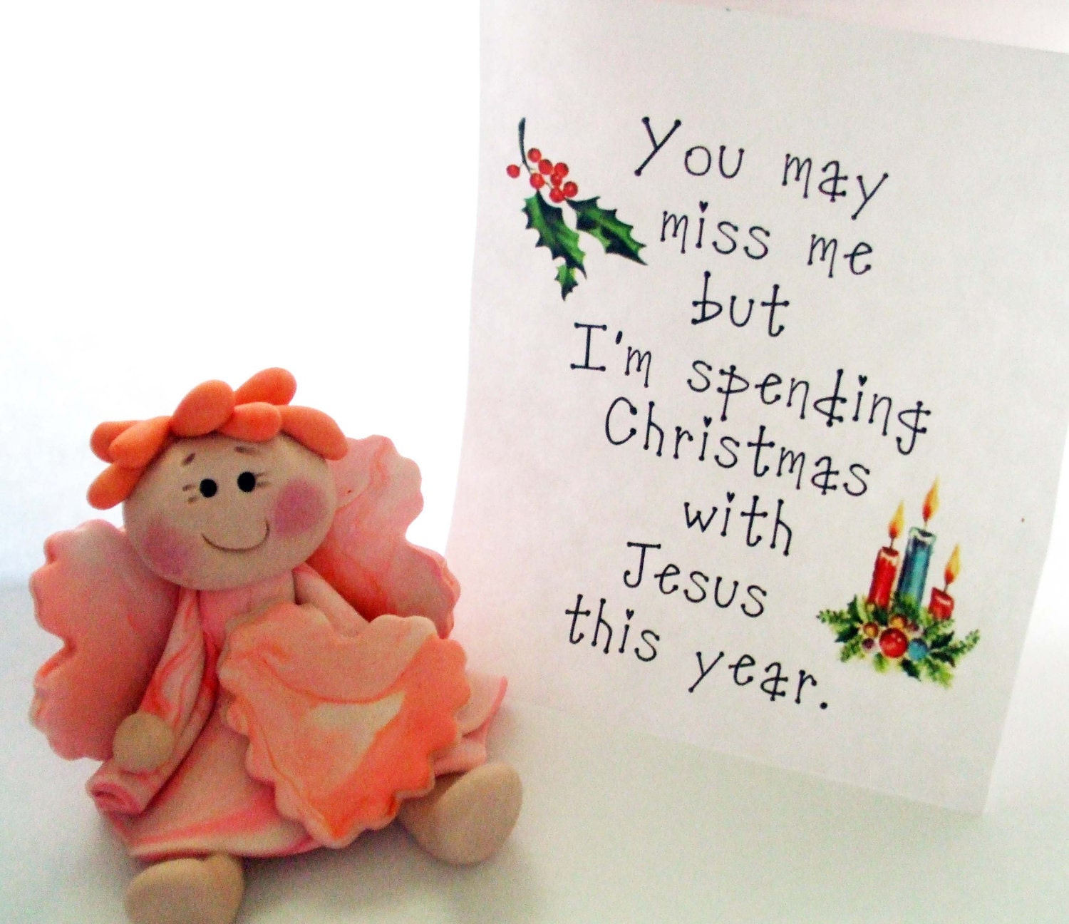 Spending Christmas With Jesus This Year Ornament