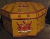 Vintage Knox New York Hat Box