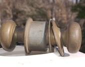 Distressed Brass (finish) Door Knobs