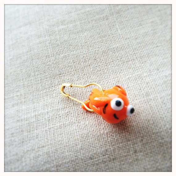Goldfish Stitch Marker