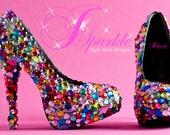 Skittle Custom High Heel Pump Designs Part 1